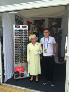 fa14bb3c1785 New designer sunglasses business launched at Nottingham Tennis Open ...