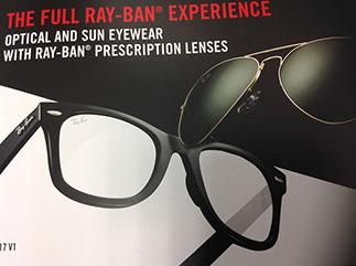 ray-ban prescription lenses