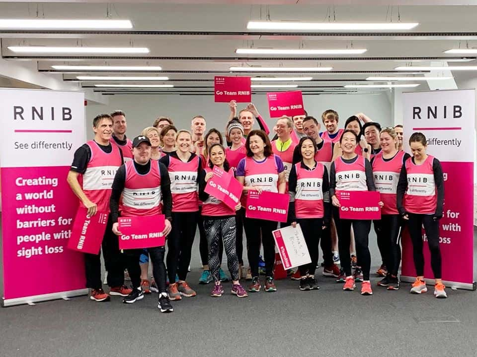 Lesley Cree Opticians London Marathon 2019