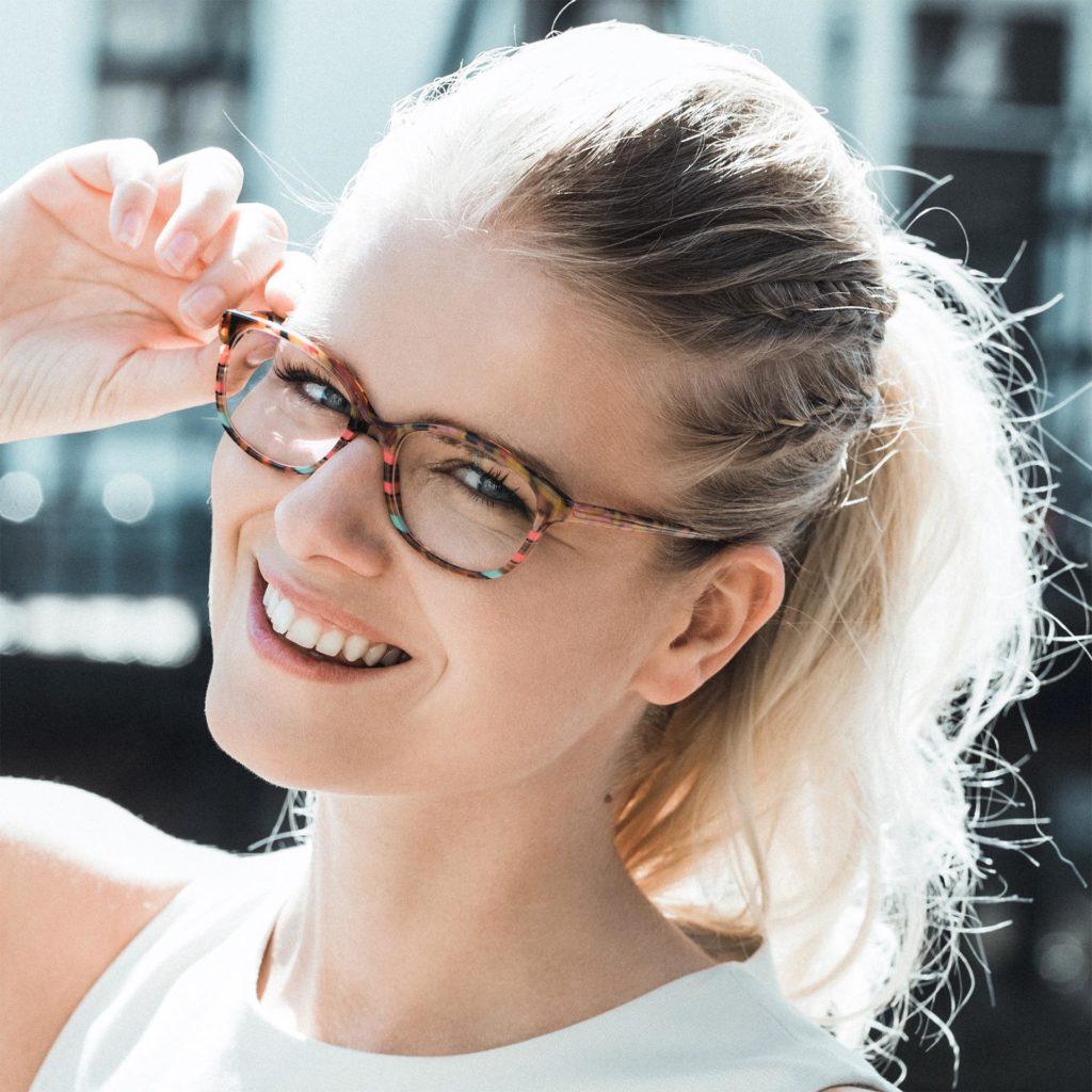 Johann von Goisern glasses Lesley Cree Opticians