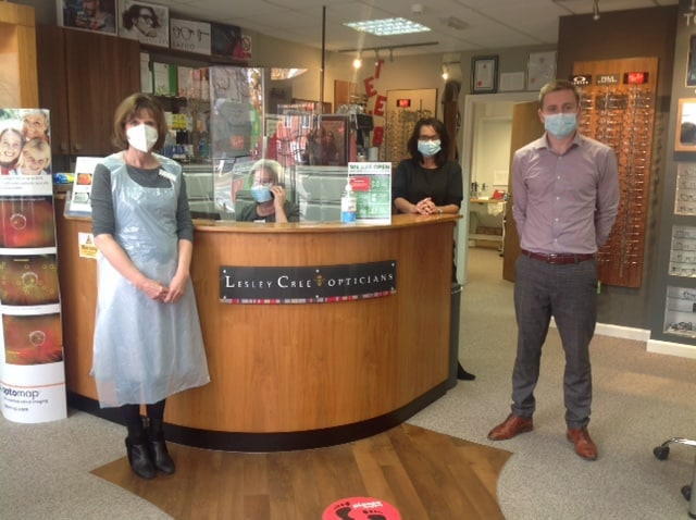 Lesley Cree Opticians in Radcliffe on Trent